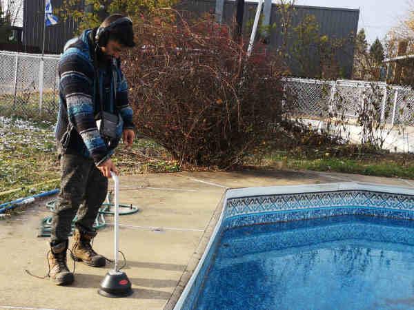 detection fuite piscine